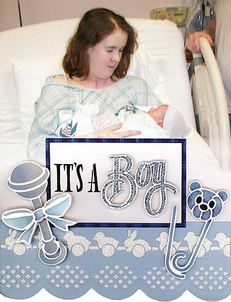 Its a boy! Victor James Chenoweth