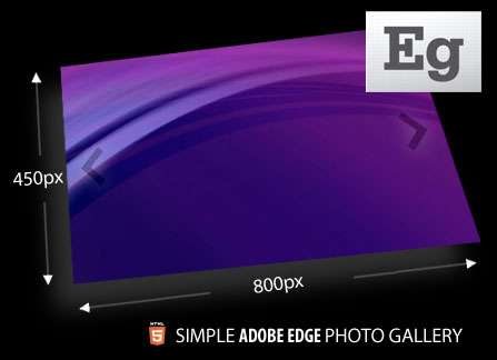 Adobe Edge Photo Gallery