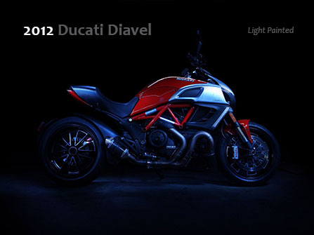 Diavel Light painted 2012 red